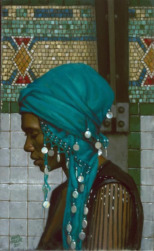 Daniel E Greene Portrait Artist Subway Paintings